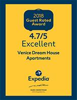 Badge expedia - Venice Dream House